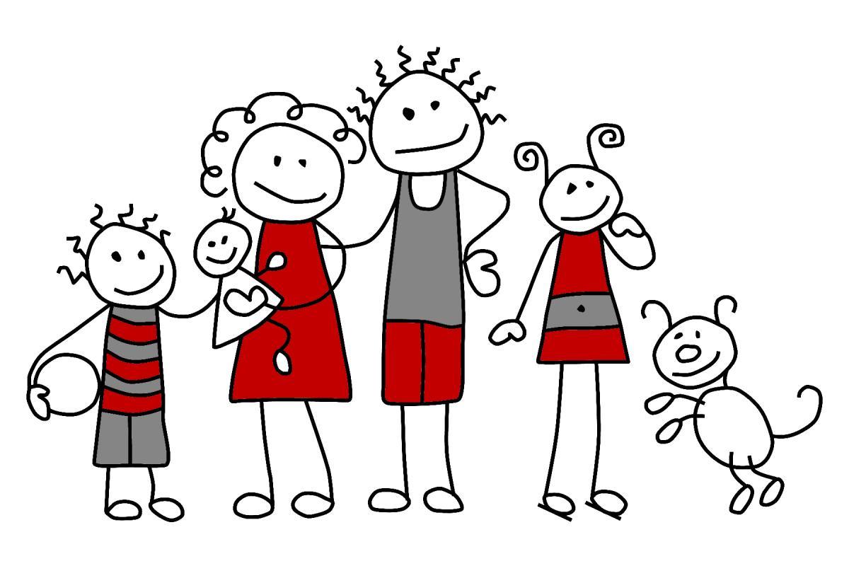 Семьи картинки нарисовать